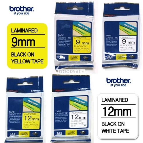 larger Brother Laminared Tape Cassette 9mm TZ-621 TZ-221 9mm