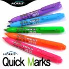 Morris Quick Marks Retractable Highlighter Quick Drying