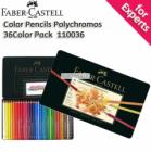 Faber-Castell Color Pencils Polychromos 36 Color Pack with Tin Case