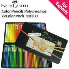 Faber-Castell Color Pencils Polychromos 72 Color Pack with Tin Case