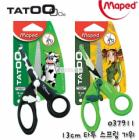 Maped Tatoo Soft Sissors 13cm 037911 for Kids, Children