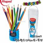 Maped Color'Peps Colored Pencils with Squeezy Tube 832009